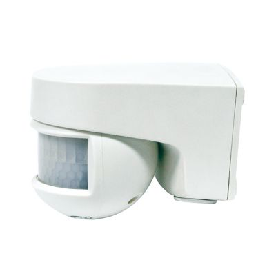 Isimat 230 V .Detector Movimiento S/Pared Orientable.140º .Detec.:12M Frontal,8M Lateral A 20ºc. Ip55