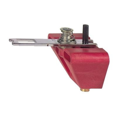 Pivoting actuator, for plastic switch