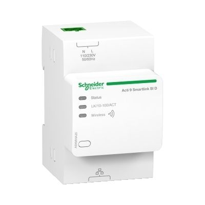Acti 9 smartlink si d, wireless to modbus tcp/ip concentrator