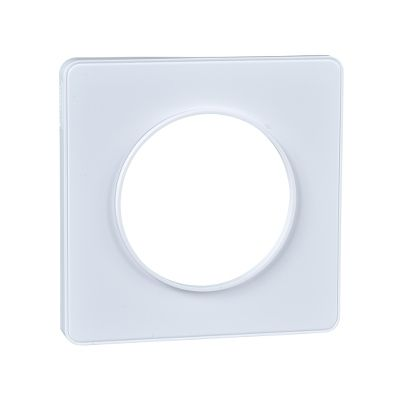 Odace, marco touch 1 elemento blanco mate