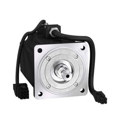 Servo motor BCH, 80mm, 750W, w oil seal, w key, leads con ((*))