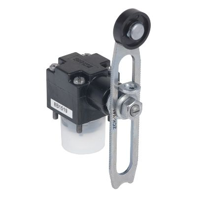Limit switch head zckd, thermoplastic roller lever variable length