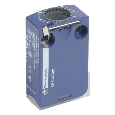 Limit switch body zcmd, 1nc+1no, silver, snap action