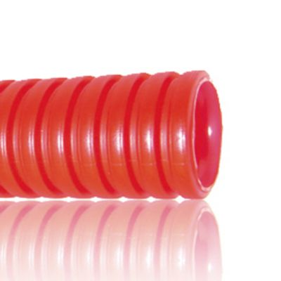 Tubo doble pared -n- 63 rojo rollo