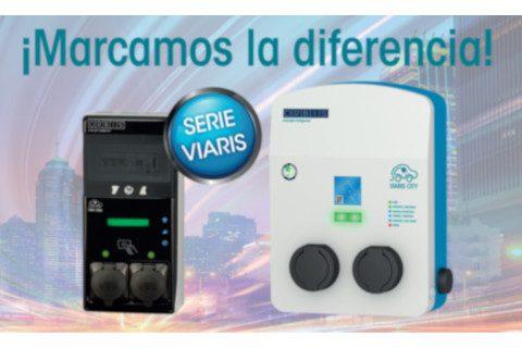 """Orbis continúa marcando la diferencia con su cargador inteligente para vehículo eléctrico """"Viaris Combi"""""""