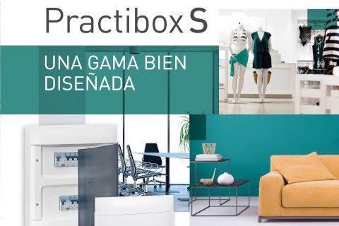 Cajas modulares y armarios de distribución: cajas de distribución de la gama Practibox S de Legrand