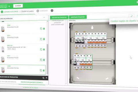 Schneider Electric mejora la herramienta online eDesign de diseño de cuadros eléctricos