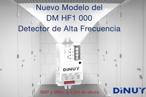 Descubre el nuevo modelo del Detector de Movimiento de Alta Frecuencia de Dinuy
