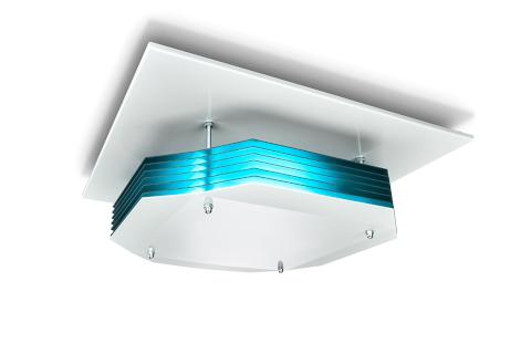 Desinfección de aire superior UV-C de Philips con montaje en techo