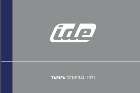 IDE estrena la segunda edición de la tarifa 2021