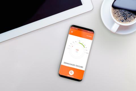 Ledvance ha desarrollado Lux-O-Meter, una APP que te permite conocer la intensidad de la luz de cualquier estancia
