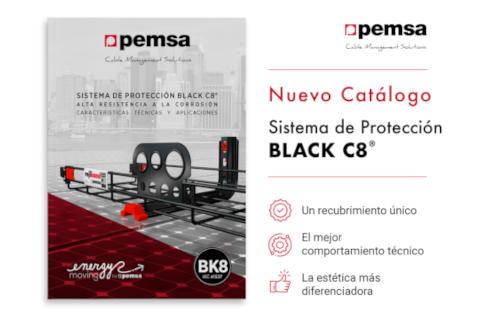 Pemsa actualiza su catálogo para el sistema de protección Black C8 ®
