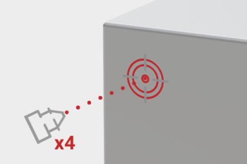 Eldon incorpora un marcado láser para facilitar el montaje en los armarios murales de acero inoxidable