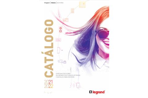 Legrand presenta el nuevo catálogo general 2021-2022