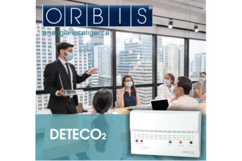 DETECO 2, el nuevo detector de CO2 de Orbis