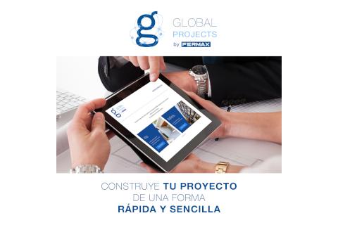 Global Projects la herramienta online de Fermax que te permite obtener listados de materiales y diseñar proyectos residenciales