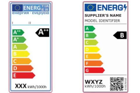Entrada en vigor del nuevo etiquetado energético para productos de iluminación