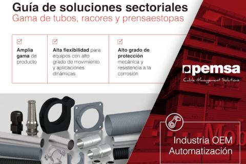 Descubre la gama de tubos de Pemsa para la industria OEM y automatización