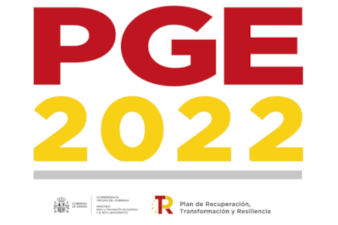 EL MITECO dispondrá en 2022 de 2.200 millones de euros para potenciar su inversión en energías renovables, movilidad sostenible e hidrógeno verde