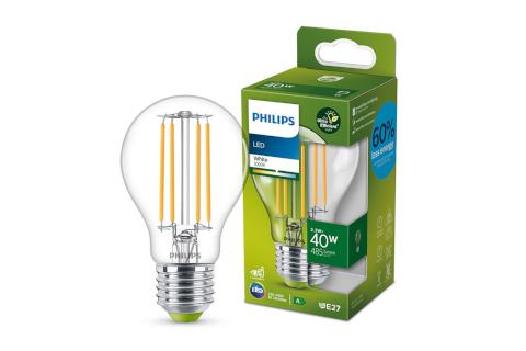 Signify lanza las primeras lámparas de clase A que cuentan con la mayor eficiencia energética del mercado