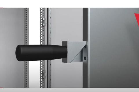 Nueva empuñadura para el transporte de placas de montaje para armarios Eldon